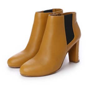 チャールズ & キース CHARLES & KEITH Ankle Boot Heels (Mustard)