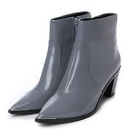 チャールズ & キース CHARLES & KEITH Ankle Boot Heels (Grey)