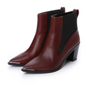 チャールズ & キース CHARLES & KEITH Ankle Boot Heels (Brown)