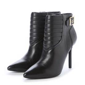 チャールズ & キース CHARLES & KEITH Ankle Boot Heels (Black)