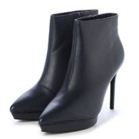 チャールズ & キース CHARLES & KEITH Ankle Boot Heels (Navy)
