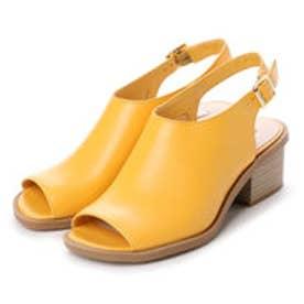 チャールズ & キース CHARLES & KEITH Open Toe (Yellow)