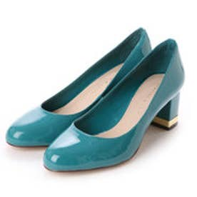 チャールズ & キース CHARLES & KEITH Covered Pump (Turquoise)