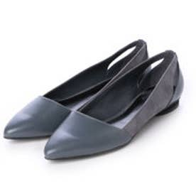 チャールズ & キース CHARLES & KEITH Covered Ballerina (Grey)