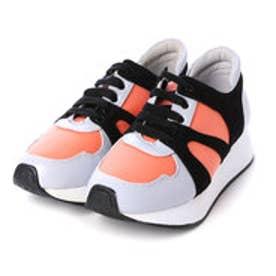チャールズ & キース CHARLES & KEITH Covered Sneakers (Multi)