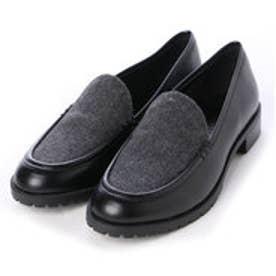 チャールズ & キース CHARLES & KEITH Covered Loafer (Black)