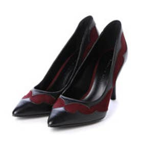 チャールズ & キース CHARLES & KEITH Covered Pump (Burgundy)