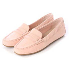 チャールズ & キース CHARLES & KEITH Covered Moccasins (Pink)