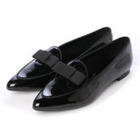 チャールズ & キース CHARLES & KEITH Covered Loafer (Black)