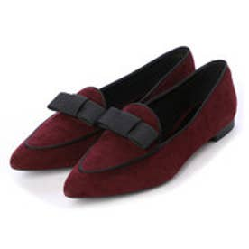チャールズ & キース CHARLES & KEITH Covered Loafer (Burgundy)