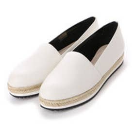 チャールズ & キース CHARLES & KEITH Covered Slip On (Chalk)