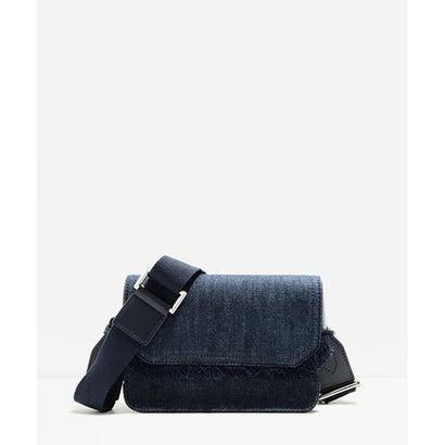フロントフラップスリングバッグ / FRONT FLAP SLING BAG(Blue)