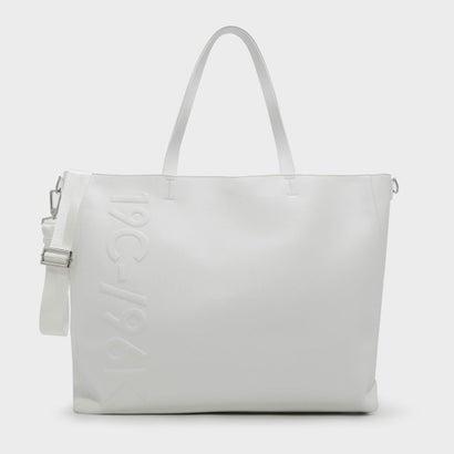 エンボストートバッグ / EMBOSSED TOTE BAG (White)