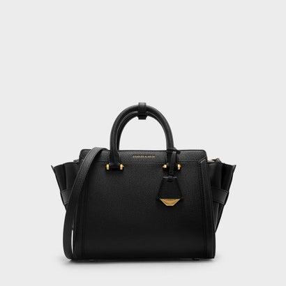 ストラクチャードトラペーズバッグ / STRUCTURED TRAPEZE BAG (Black)