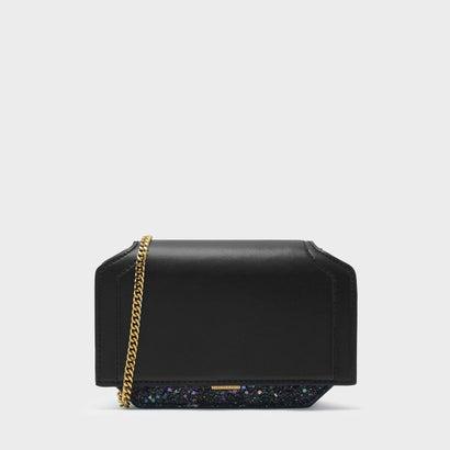 ドレッシーチェーンクラッチバッグ / DRESSY CHAIN CLUTCH BAG (Black)