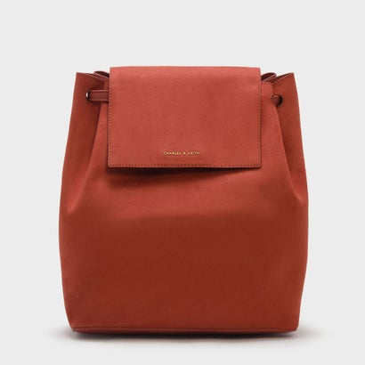 フロントフラップショルダーバッグ / FRONT FLAP SHOULDER BAG (Clay)