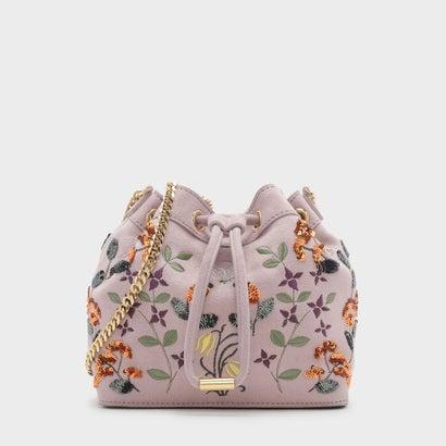 ドローストリングショルダーバッグ / DRAWSTRING SHOULDER BAG (Pink)