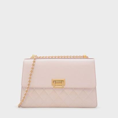 トラピゾイドショルダーバッグ / TRAPEZOID SHOULDER BAG (Pink)