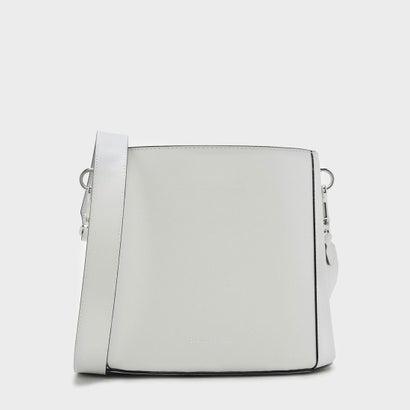 ストラクチャードローストリングスリングバッグ / STRUCTURED DRAWSTRING SLINGBAG  (White)
