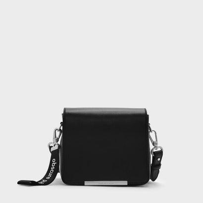 ストラクチャークロスボディバッグ / STRUCTURED CROSSBODY BAG (Black)