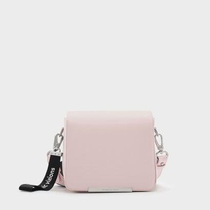 ストラクチャークロスボディバッグ / STRUCTURED CROSSBODY BAG (Pink)