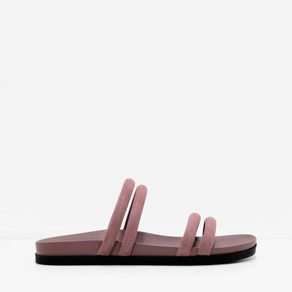 ストラッピースリッポンサンダル / STRAPPY SLIP-ON SANDALS(Pink)