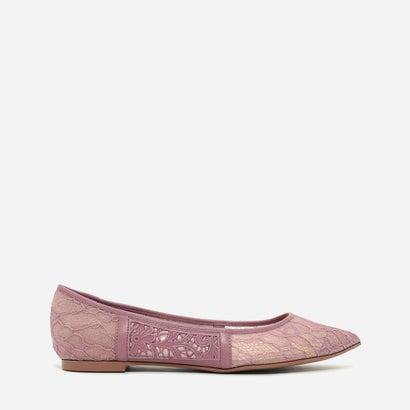 レースディテールバレリーナ / LACE DETAIL BALLERINAS (Pink)