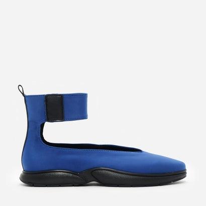 アンクルストラップスニーカー / ANKLE-STRAP SNEAKERS (Blue)