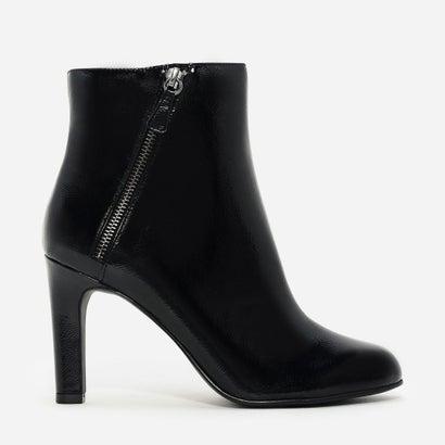 ジッパーアンクルブーツ / ZIPPER ANKLE BOOTS (Black)