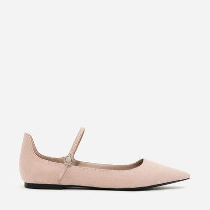 メリージェーンポインテッドフラット / MARY JANE POINTED FLATS (Pink)