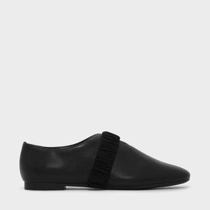 カバードスリッポンフラット / COVERED SLIP-ON FLATS (Black)