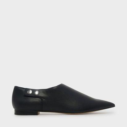 ポインテッドトゥフラット / POINTED TOE FLATS (Black)