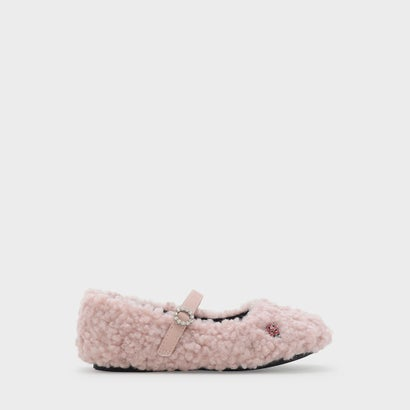 エンベリッシュドメリージェーンフラット / EMBELLISHED MARY JANE FLATS (Pink)