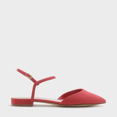 アンクルストラップポインテッドサンダル / ANKLE STRAP POINTED SANDALS (Red)