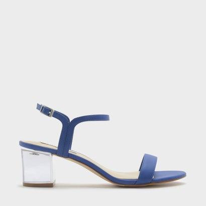 ルーサイトヒールサンダル / LUCITE HEEL SANDALS (Blue)