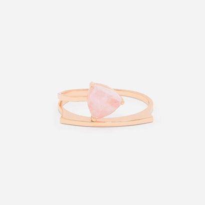 ストーンカフバングル / STONE CUFF BANGLE(Pink)