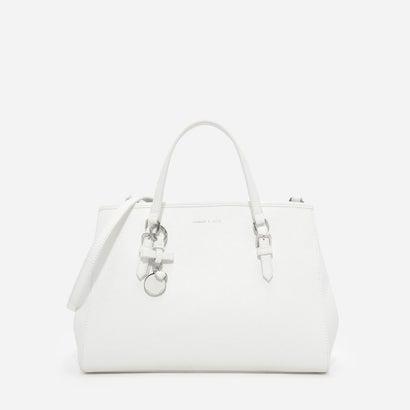 ボーディテールトートバッグ / BOW DETAIL TOTE BAG (White)