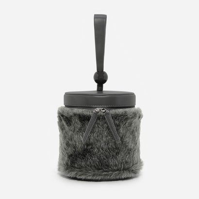 ファーリーバケツバッグ / FURRY BUCKET BAG (Grey)
