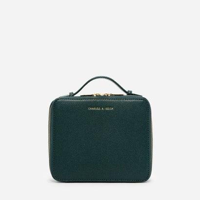 トップハンドルボクシーポーチ / TOP HANDLE BOXY POUCH (Green)