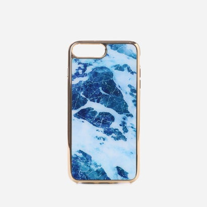 マーブルiPHONEケース(iPHONE7 PLUS用)MARBLE iPHONE CASE (iPHONE7 PLUS) (Blue)