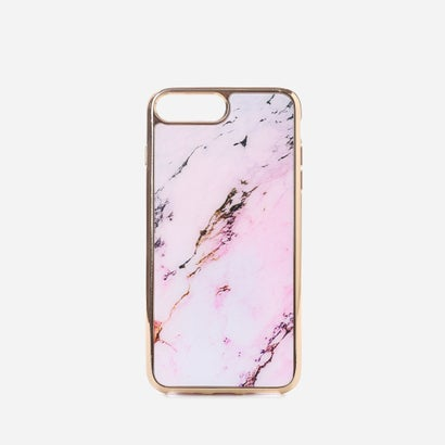 マーブルiPHONEケース(iPHONE7 PLUS用)MARBLE iPHONE CASE (iPHONE7 PLUS) (Pink)