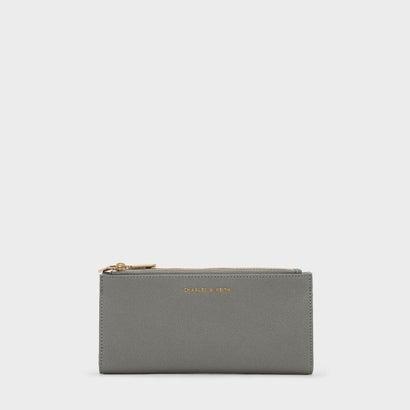 ロングジップウォレット / LONG ZIP WALLET (Grey)