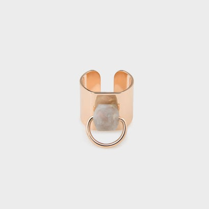 ストーンリング / STONE RING (Rose Gold)