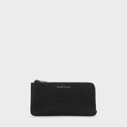 カードフォルダー付ロングウォレット / LONG WALLET WITH CARD HOLDER (Black)