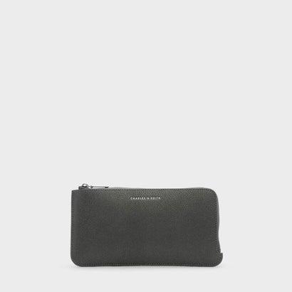 カードフォルダー付ロングウォレット / LONG WALLET WITH CARD HOLDER (Pewter)