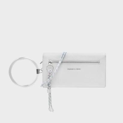 シングルウィッチストラップウォレット / SINGLE WITH STRAP WALLET (White)