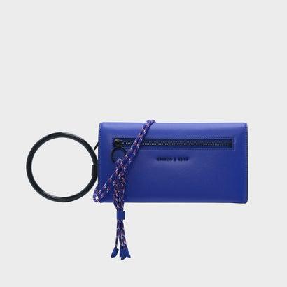 シングルウィッチストラップウォレット / SINGLE WITH STRAP WALLET (Blue)