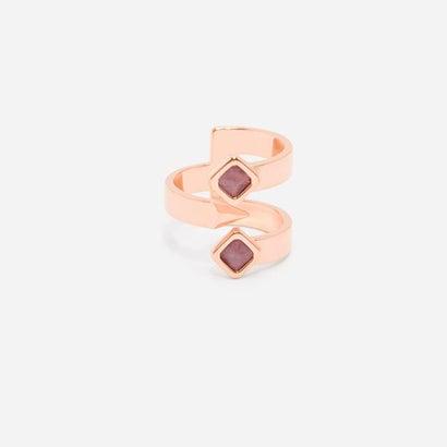 ストーンクルーリング / STONE CLAW RING(Rose Gold)