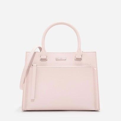 フロントジップストラクチャードバッグ / FRONT ZIP STRUCTURED BAG(Pink)