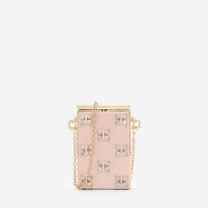ジェムエンベリッシュドスリングバッグ / GEM EMBELLISHED SLING BAG (Pink)